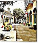 Dutch Alley  Canvas Print