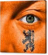 Dutch Lion - Coat Of Arms Canvas Print