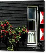 Dutch Window Canvas Print