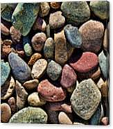 Dyed Stones Canvas Print
