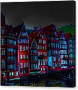Dyke Road  -  Hamburg Canvas Print