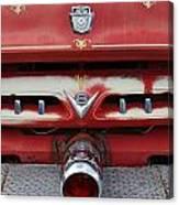 E Town Fire Truck Canvas Print