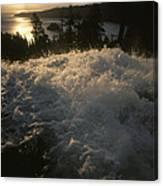 Eagle Falls Plunges Toward Lake Tahoe Canvas Print