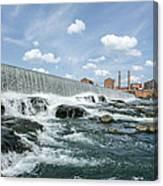 Eagle-phenix Dam Canvas Print