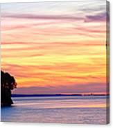 Eagle Sunrise Canvas Print