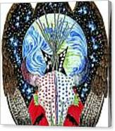 Eagle Tipi Canvas Print