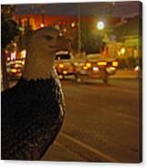 Eagle Watching Grants Pass Night Canvas Print