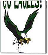 Eagles Vs Dallas Canvas Print