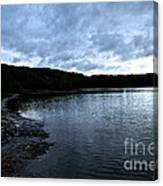 Early Am Shoreline Canvas Print