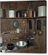 Early American Utensils Canvas Print