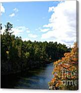 Early Autumn Colors Canvas Print
