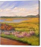 Early Fall Plum Island Canvas Print