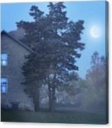 Early Morning Farmhouse Canvas Print