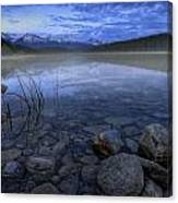 Early Summer Morning On Patricia Lake Canvas Print