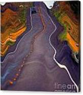 Earthquake Canvas Print