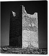 Easkey Castle Roslea Roslee Odowds County Sligo Canvas Print