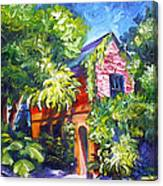 East Bay House In Charleston  Canvas Print