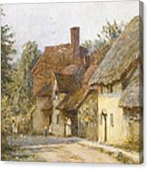 East Hagbourne Berkshire Canvas Print