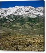 East Humboldt Range Canvas Print
