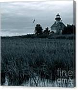 East Point Light Before The Storm  Canvas Print