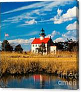 East Point Lighthouse Reflection Canvas Print