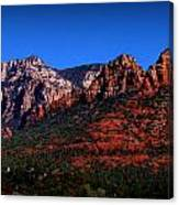 East Sedona Colors Canvas Print