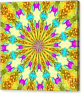 Easter Kaleidoscope  Canvas Print