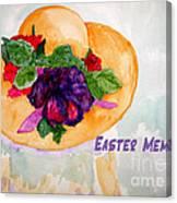 Easter Memories Canvas Print
