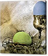 Easter With Patina 6 Canvas Print