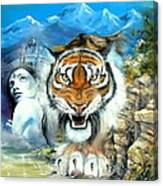 Easy Tiger Canvas Print