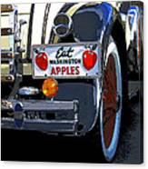 Eat Washington Apples2 Canvas Print