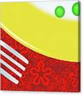 Eat Your Peas Canvas Print