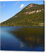 Echo Lake Franconia Notch New Hampshire Canvas Print