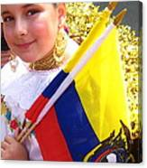 Ecuadorian Pride Canvas Print