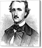 Edgar Allan Poe (1809-1849) Canvas Print