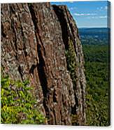 Edge Of The Mountain Canvas Print