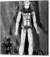 Edison: Talking Doll, C1890 Canvas Print