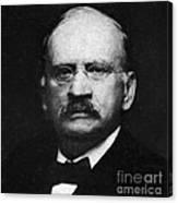 Edward W. Morley 1907 Nobel Prize Canvas Print