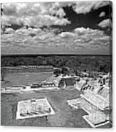 Edzna Ruins Campeche Mexico Canvas Print