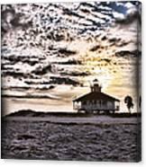 Eerie Lighthouse Canvas Print