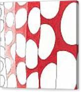 Egg Shower Curtain Canvas Print