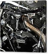 Egli-vincent Godet Motorcycle Canvas Print