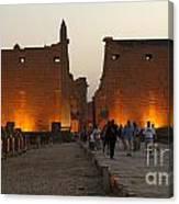 Egypt Luxor Temple Canvas Print