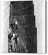 Egypt: Pyramid Interior Canvas Print