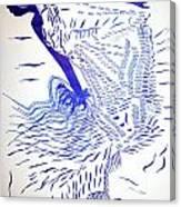 Egyptian Baladi Dance Canvas Print