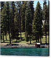 Ehrman Mansion Lake Tahoe Canvas Print
