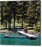 Ehrman Mansion Sugar Pine Point State Park Canvas Print
