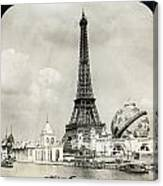 Eiffel Tower, 1900 Canvas Print