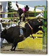 Rodeo Eight Seconds Canvas Print