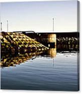 Eisenhower Pier Canvas Print